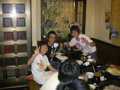 ★RFC夏・飲み会!ラッシーさん歓送会★_e0147297_9163763.jpg