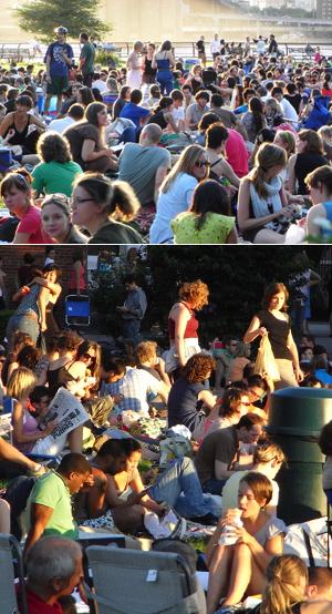ブルックリン・ブリッジ・パークの野外映画イベント Movies With A View 2008_b0007805_13565215.jpg