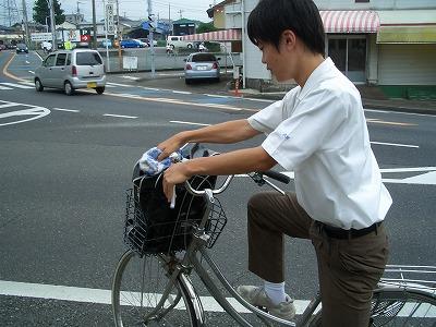 市内高校PTAによる自転車の合同交通指導_f0141310_23323288.jpg