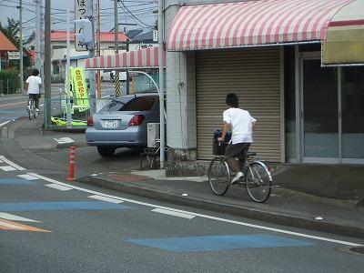 市内高校PTAによる自転車の合同交通指導_f0141310_23334919.jpg