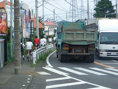 市内高校PTAによる自転車の合同交通指導_f0141310_23341110.jpg