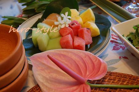 Hawaii*ごっこ_c0128886_22234960.jpg