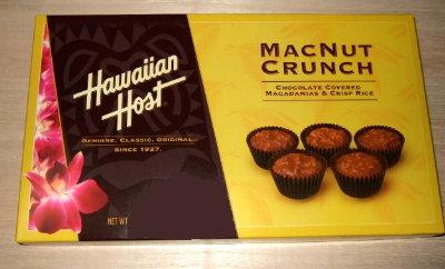 /// 今日のおめざはハワイアンホーストのマカダミアクランチです ///_f0112434_16475640.jpg