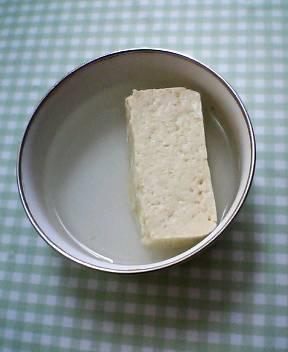 豆腐が出来ました!_b0106766_1822178.jpg