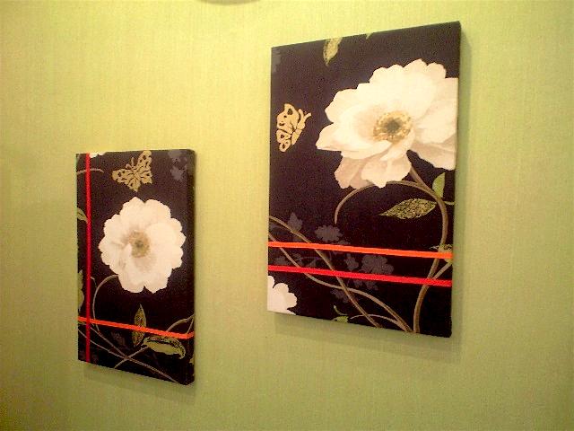 布を使って壁飾りを作りました_c0157866_21352956.jpg
