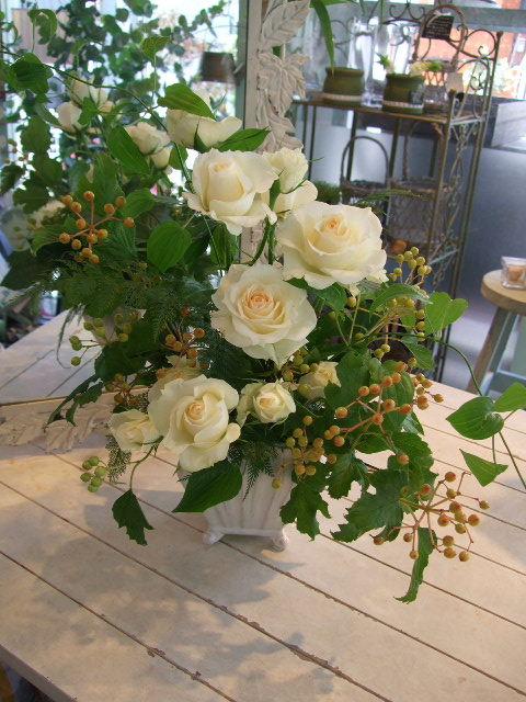 オークリーフ花の教室(夏のお教室)_f0049672_17503274.jpg