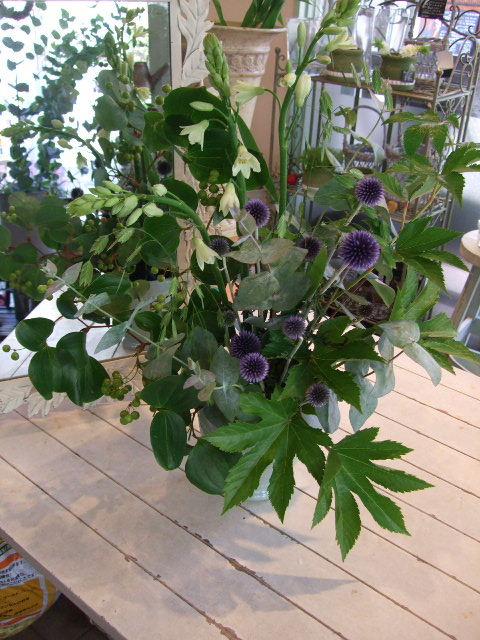 オークリーフ花の教室(夏のお教室)_f0049672_1810579.jpg
