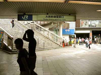 08July17朝のJR大阪駅御堂筋口。_d0136282_2214653.jpg