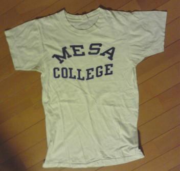 7月20日入荷!vintage カレッジ Tシャツ_c0144020_155352.jpg