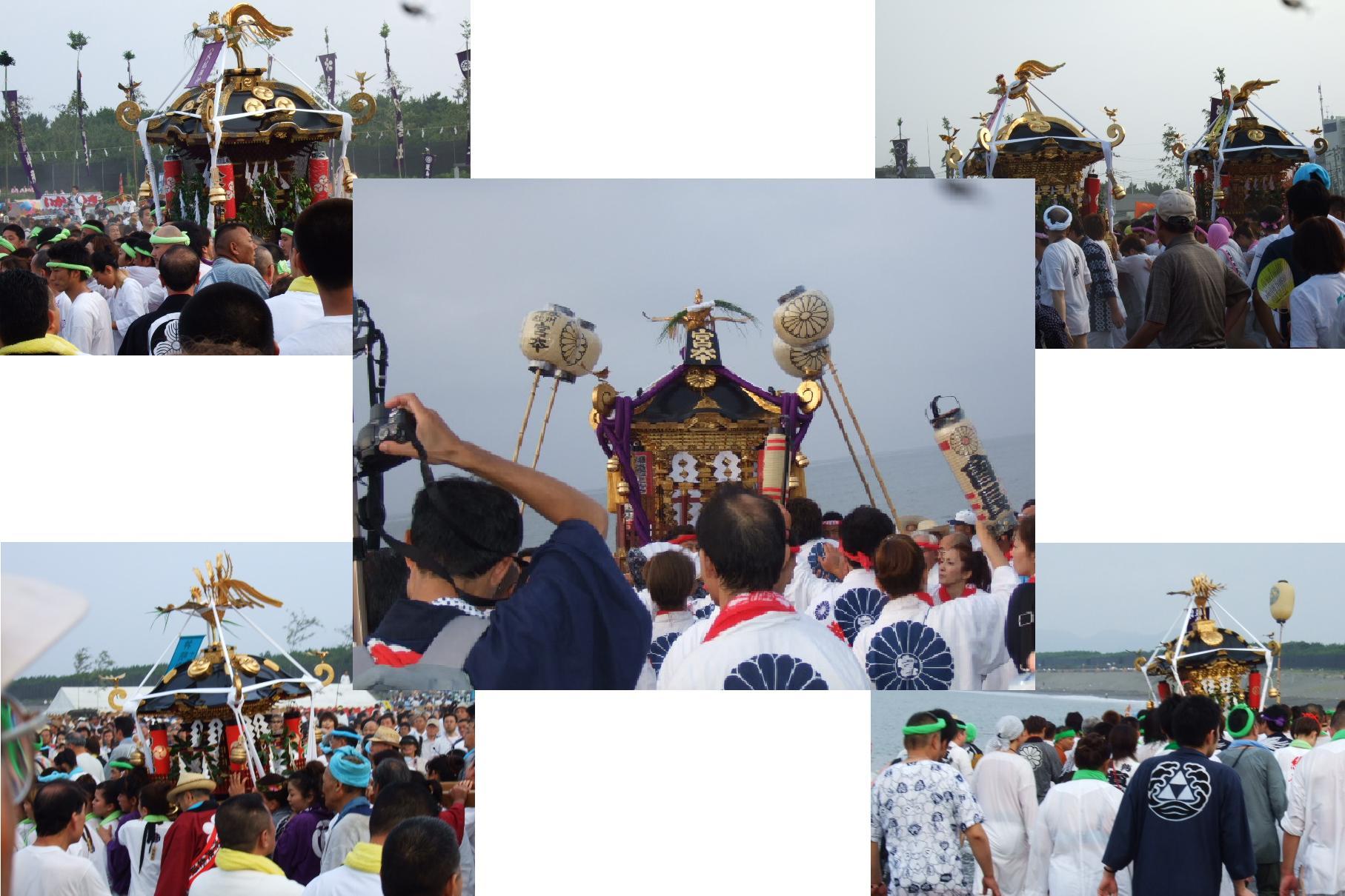 暑い夏は湘南の夏祭り!七夕&浜降祭_b0137932_11132292.jpg