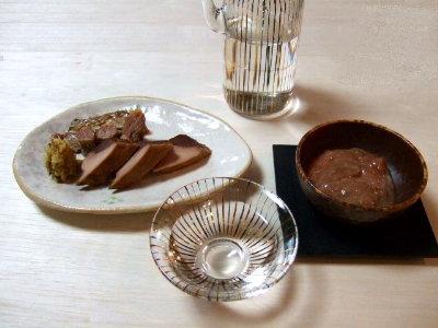 /// 今日のおばんざいは高知市・吉永水産の「鰹の生節と酒盗のセット」です ///_f0112434_093353.jpg