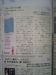 「カレーライスの謎」書評_c0033210_4364720.jpg
