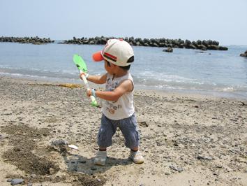 砂遊び!_f0129726_20541863.jpg