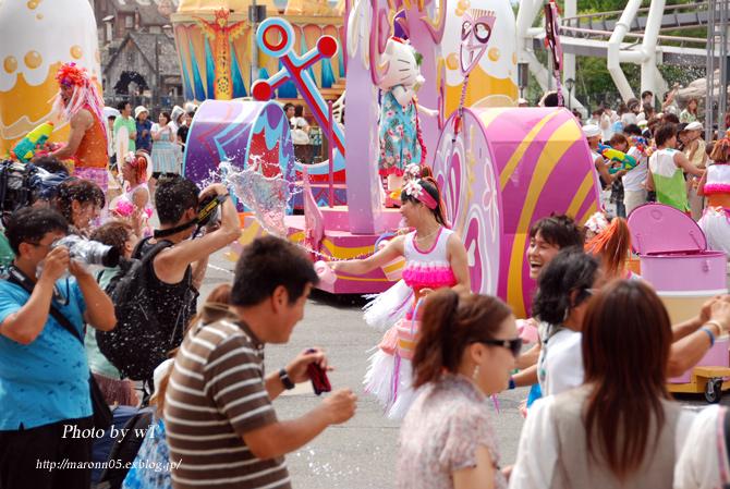 夏のUSJ ~ユニバーサル・ウォーターパレード(2) _f0019849_0152141.jpg