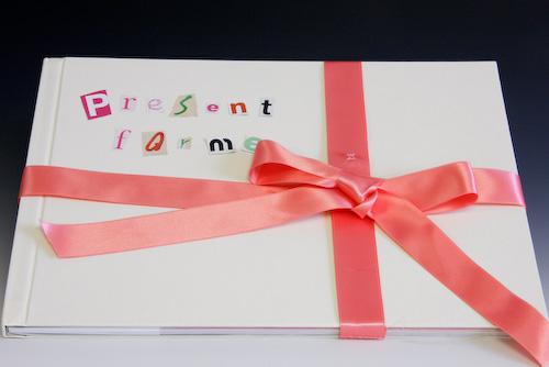 「present for me!」 高野美香_c0098759_1333247.jpg