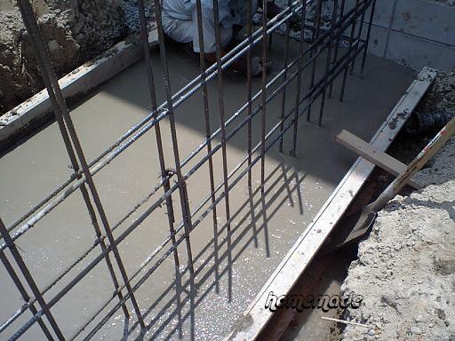 基礎工事4 深基礎ベース打設_c0108065_17185798.jpg