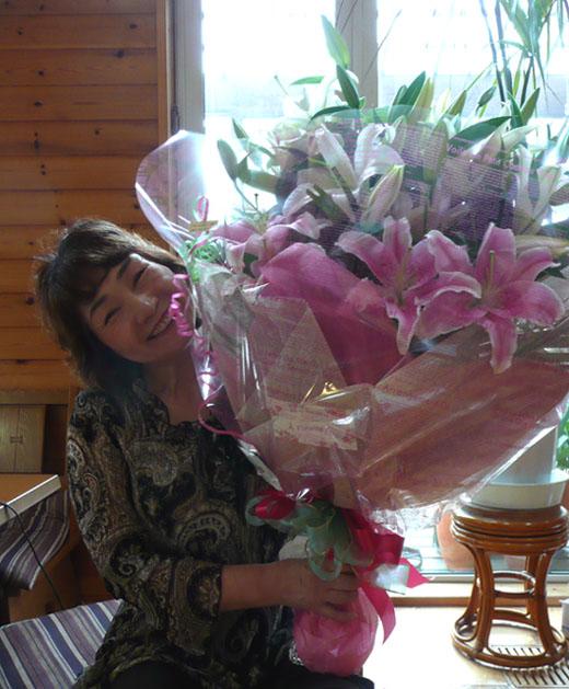かみさんの誕生日!_f0150893_21241297.jpg