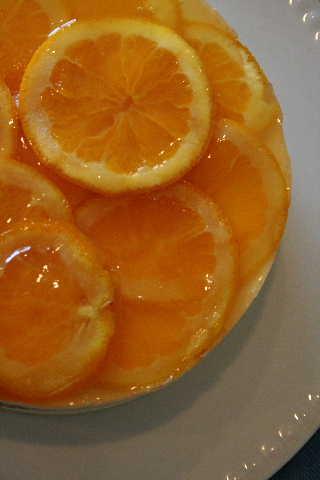 教室・・・オレンジムースケーキ&夏のフラワー_f0141419_5292568.jpg