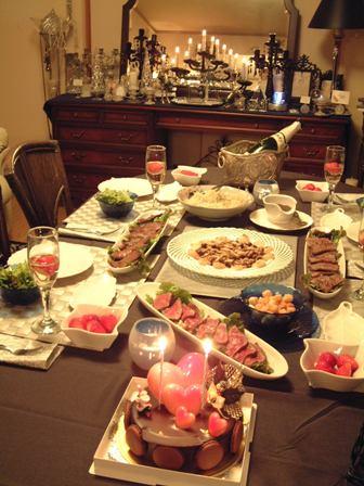 17才の息子の手料理でクリスマスパーティー♪_f0029571_74889.jpg