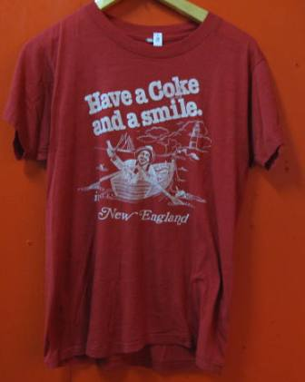 7月26日(土) 入荷!70\'S HAVE A COKE&SMILE Tシャツ! _c0144020_19313459.jpg