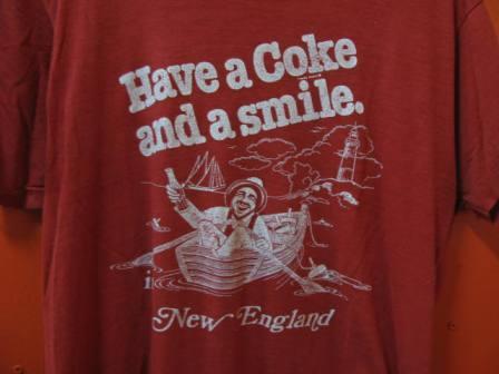 7月26日(土) 入荷!70\'S HAVE A COKE&SMILE Tシャツ! _c0144020_19314515.jpg