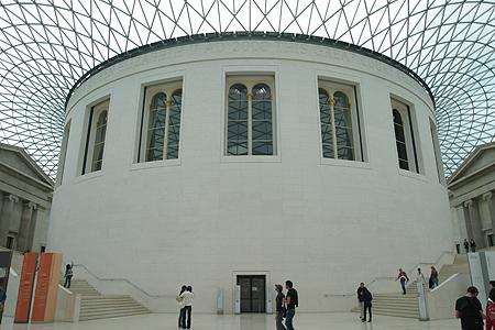 大英博物館グレート・コート_b0091545_0152154.jpg