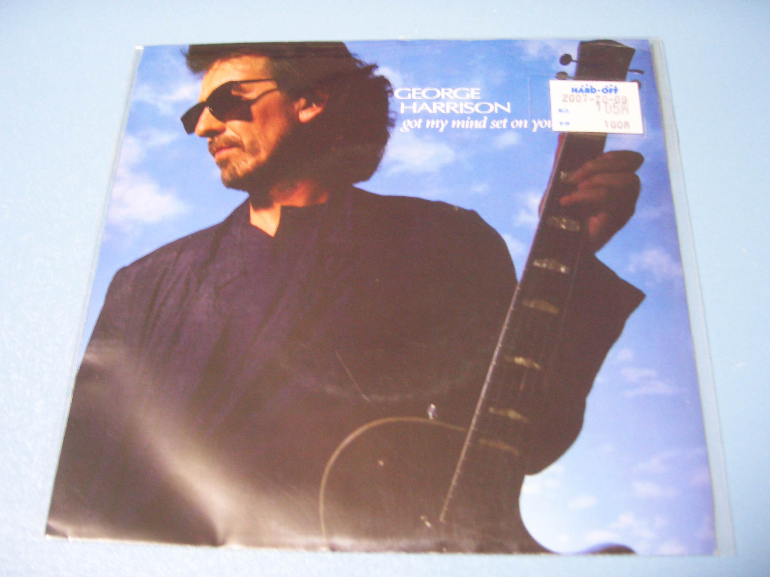 George Harrison / Got My Mind Set On You_c0062649_233951100.jpg