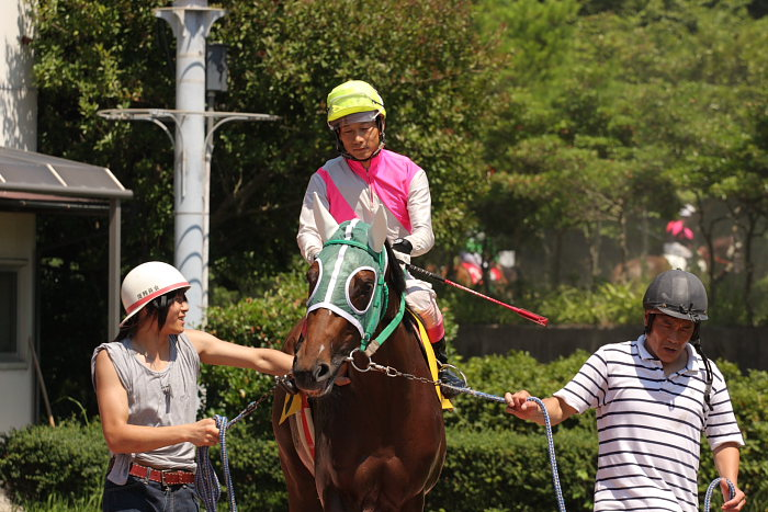 濱田達也騎手、3勝目~_a0077663_18303167.jpg