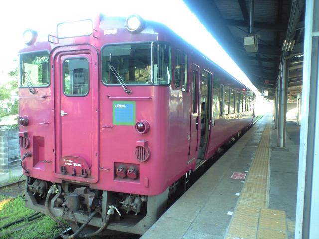 赤い虹と、空の上の列車 (餘部)_b0005281_22192818.jpg