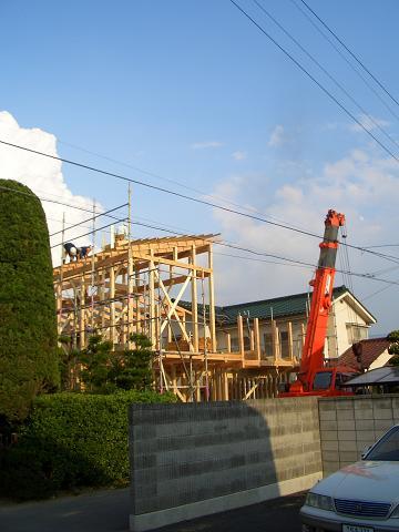 住宅 松本市 F邸 上棟式_b0146238_22101962.jpg