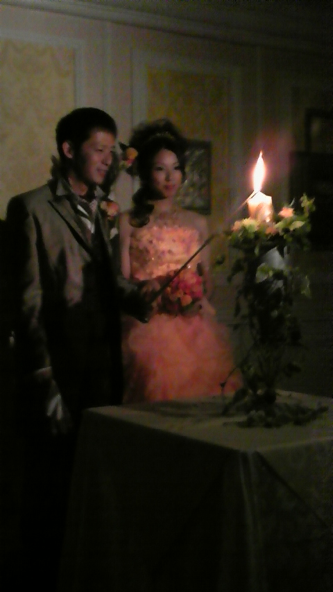 AXSデザインの鈴木君と、御経塚サティ店の井村さんの結婚式です。_d0001806_1421234.jpg