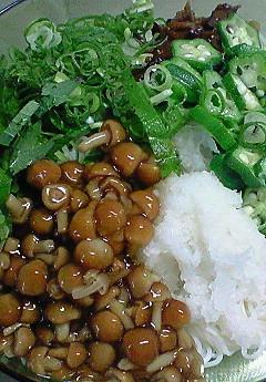 ネバトロ素麺♪_f0116812_842878.jpg