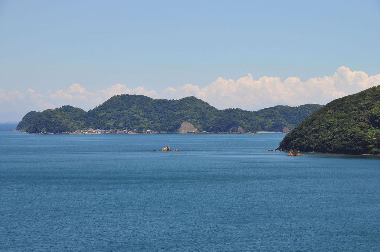 青い海と空 (大分県津久見市) 壁紙写真_f0172619_13214751.jpg