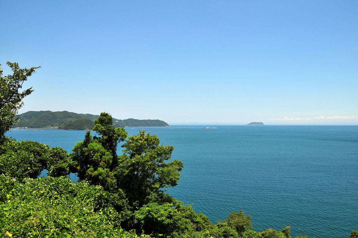 青い海と空 (大分県津久見市) 壁紙写真_f0172619_13222434.jpg