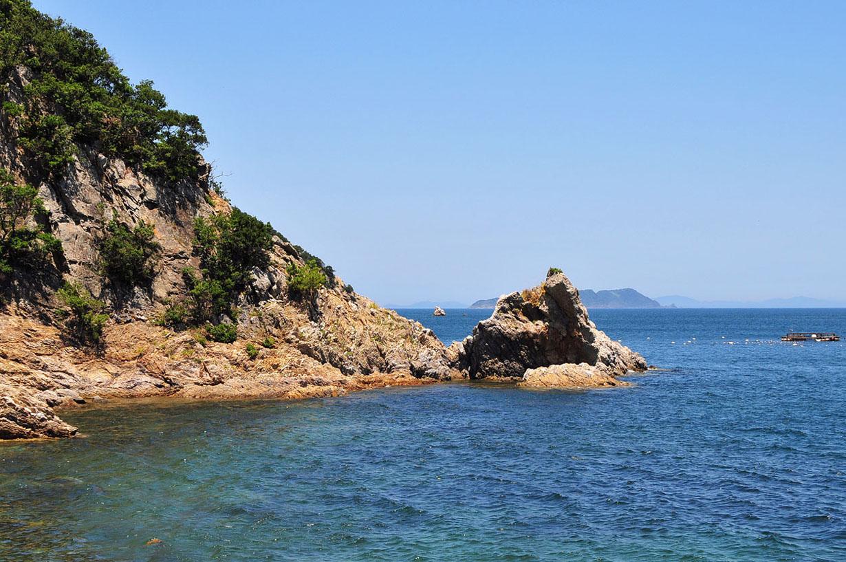 青い海と空 (大分県津久見市) 壁紙写真_f0172619_13225818.jpg