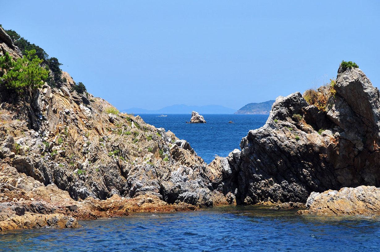 青い海と空 (大分県津久見市) 壁紙写真_f0172619_13231897.jpg