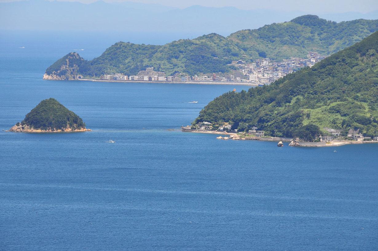 青い海と空 (大分県津久見市) 壁紙写真_f0172619_13242918.jpg