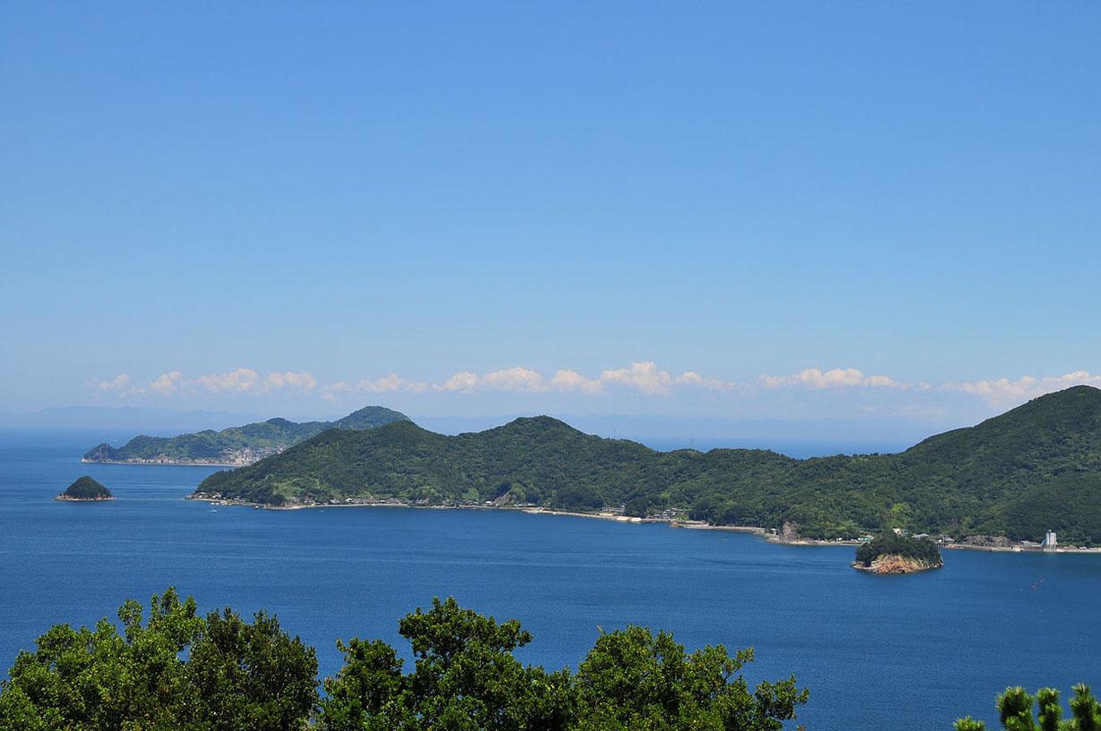 青い海と空 (大分県津久見市) 壁紙写真_f0172619_13245435.jpg