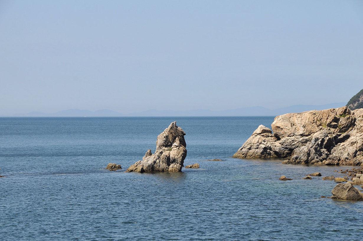 青い海と空 (大分県津久見市) 壁紙写真_f0172619_1327697.jpg