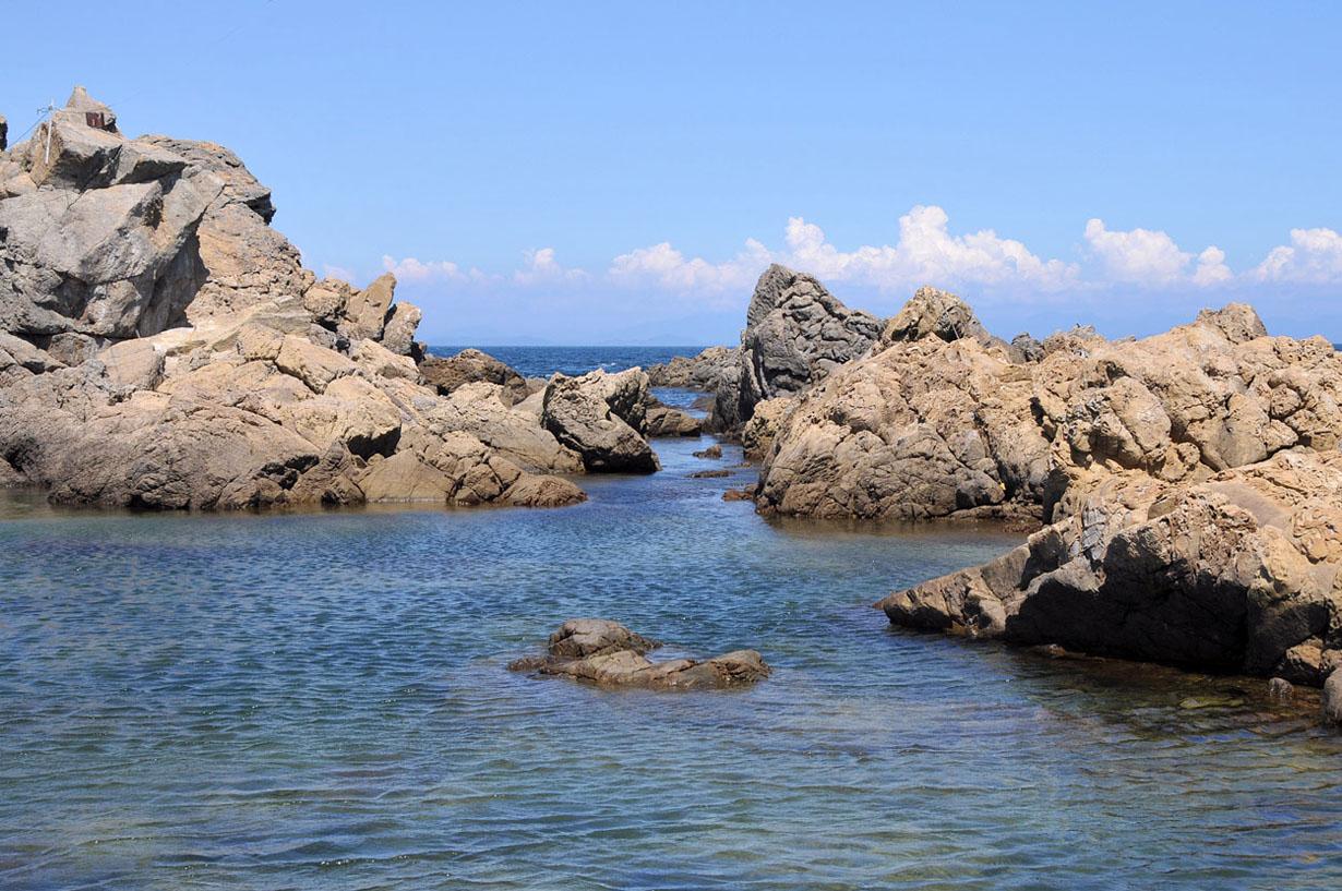 青い海と空 (大分県津久見市) 壁紙写真_f0172619_13281022.jpg