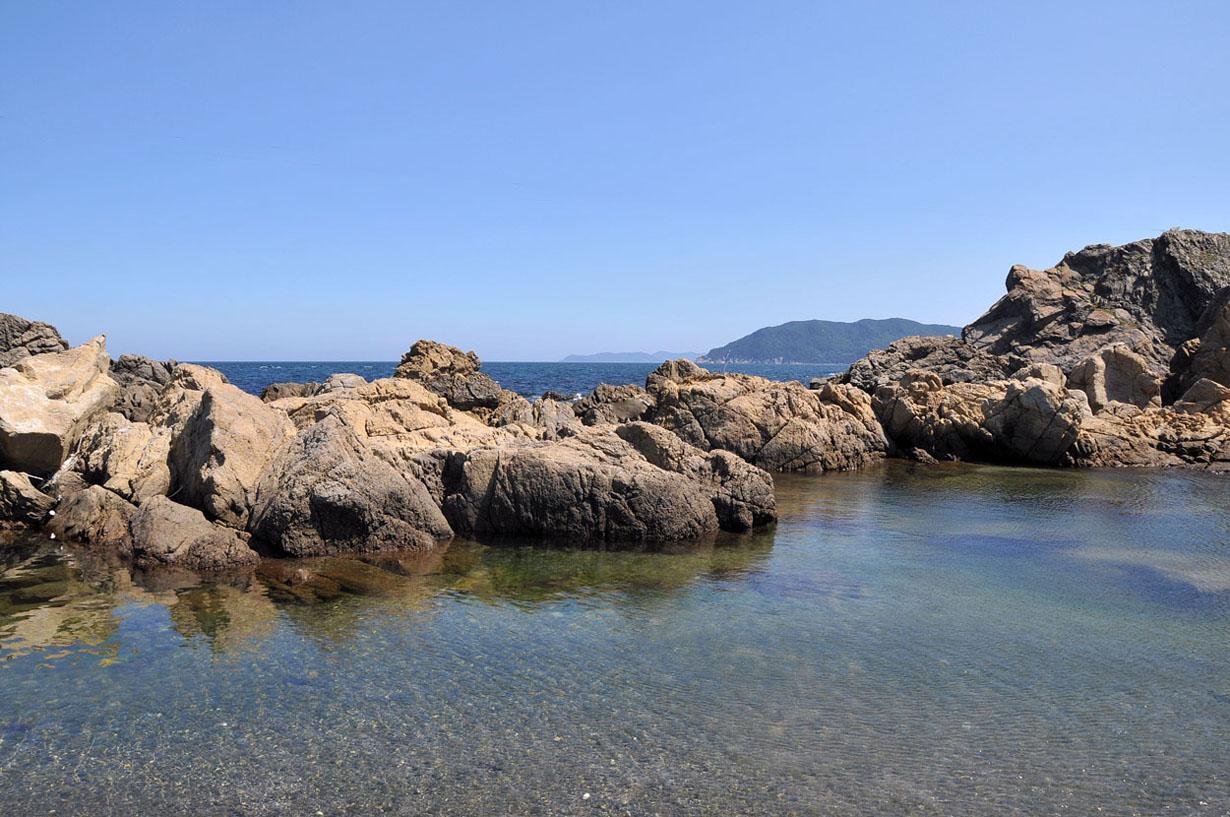 青い海と空 (大分県津久見市) 壁紙写真_f0172619_13282774.jpg
