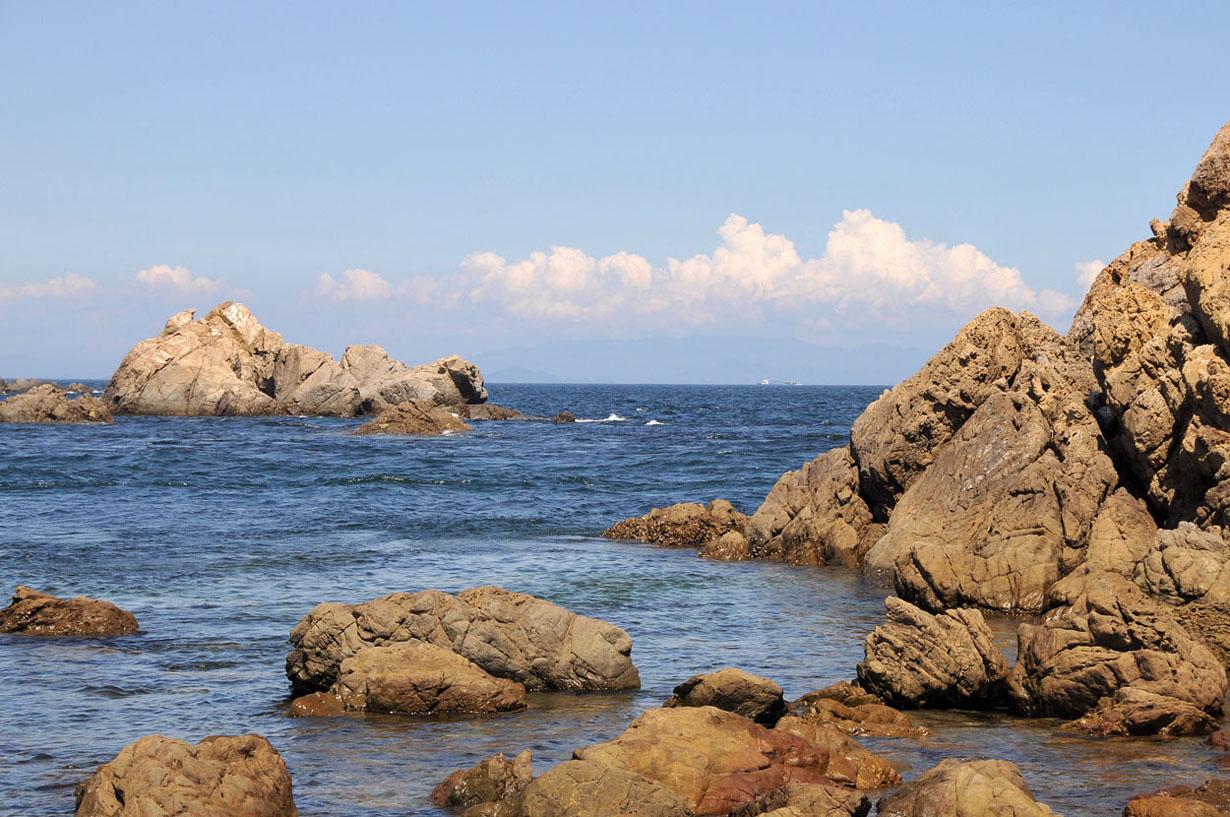 青い海と空 (大分県津久見市) 壁紙写真_f0172619_13284559.jpg