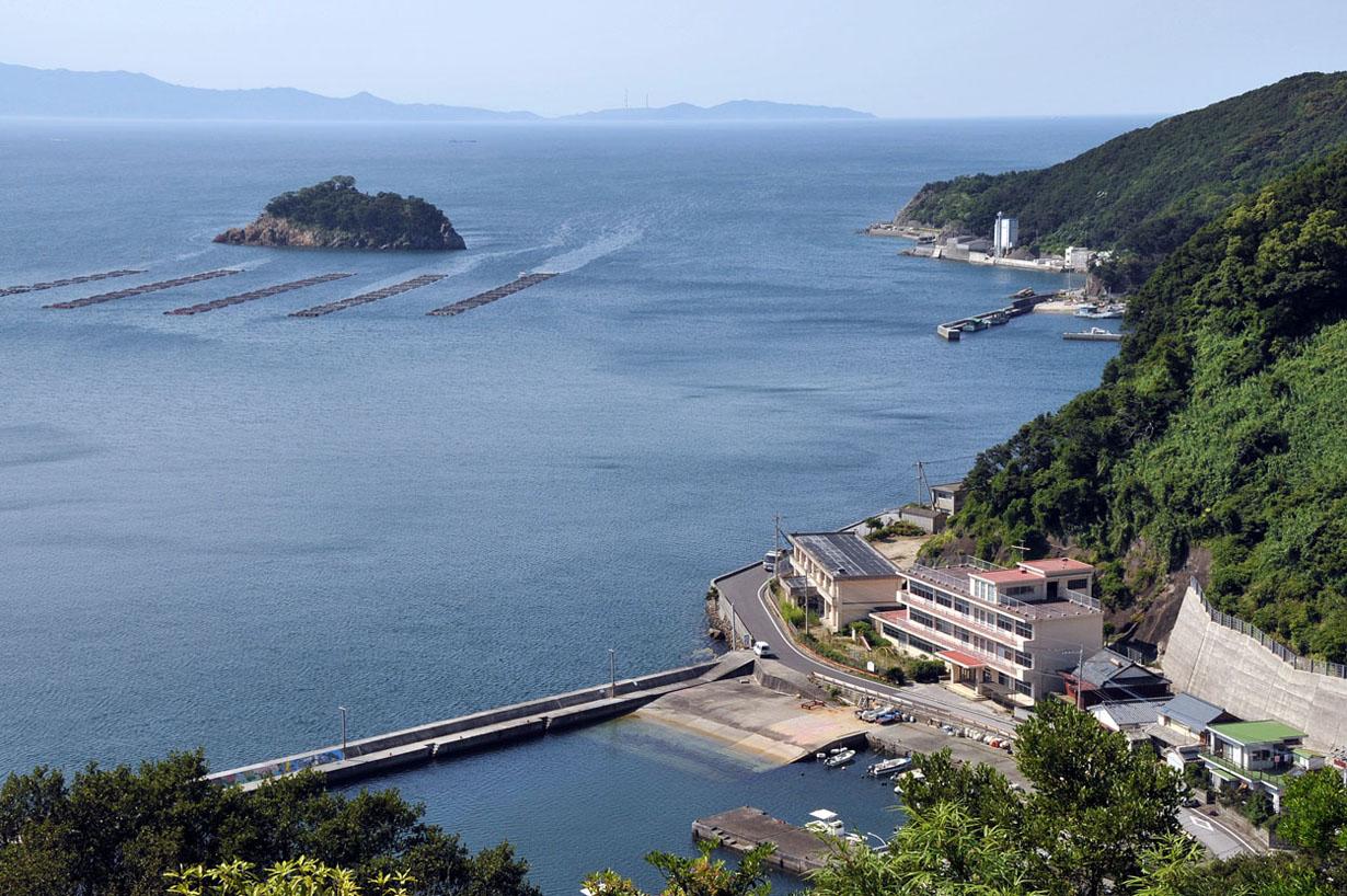 青い海と空 (大分県津久見市) 壁紙写真_f0172619_1329556.jpg