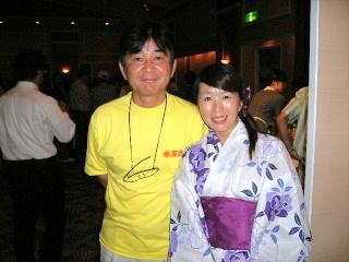 2008/7/27  納涼ビアパーティー_f0043559_23422391.jpg