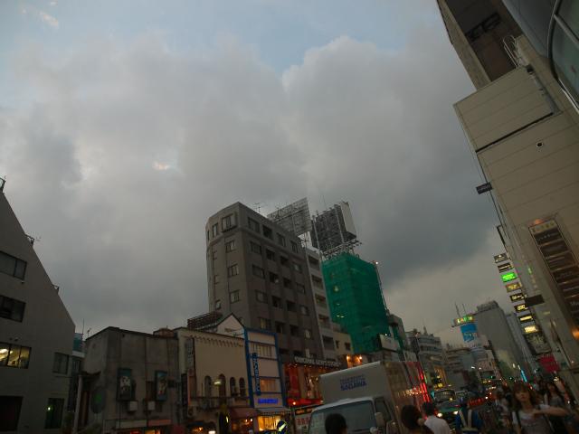 東京の風景 夕暮れ時の表参道_f0024992_8225789.jpg