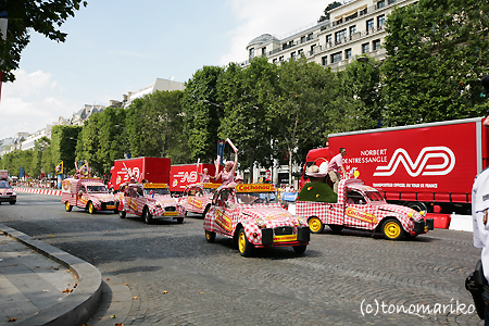 パレード Tour de France 2008_c0024345_22592819.jpg