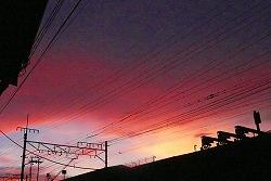 日曜日の夕焼け雲_c0087349_5214361.jpg