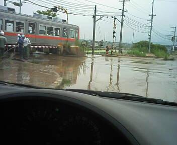 ■洪水 ■ 海7月28日(月)15:00_b0112351_13535026.jpg