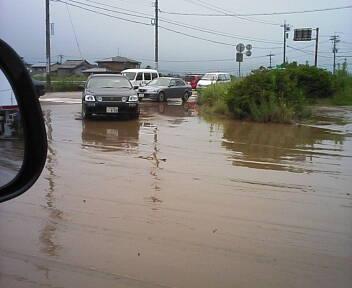 ■洪水 ■ 海7月28日(月)15:00_b0112351_13551545.jpg
