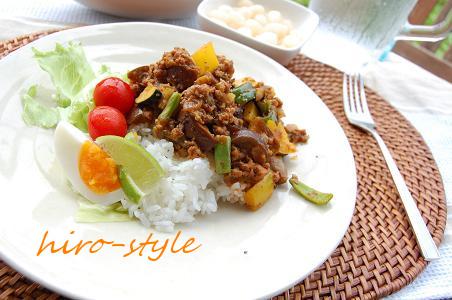 夏野菜たっぷりブランチ♪_c0128886_15362861.jpg